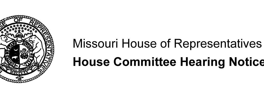 House Committee Hearing Notice – Legislative Task Force on Dyslexia