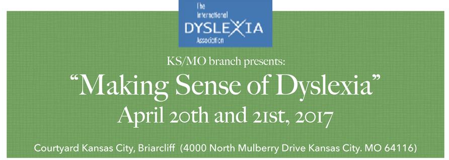 Making Sense of Dyslexia Event