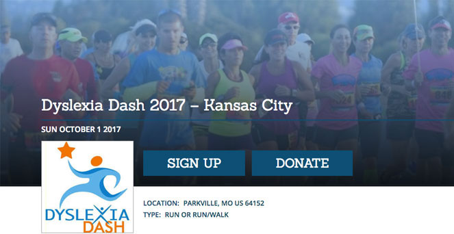 Dyslexia Dash – Kansas City 2017